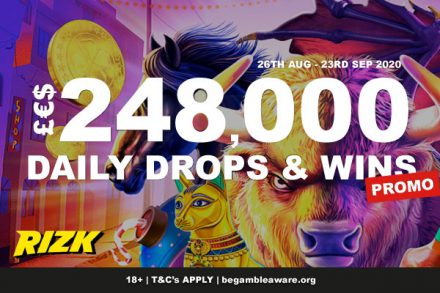 Win Cash In The Rizk Casino Daily Drops This September