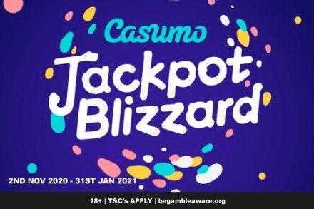 Enter the Casumo Jackpot Blizzard & Win A Share of 2 Million