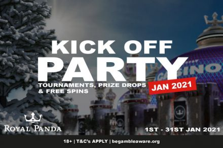 Royal Panda Casino Start 2021 Off With A Free Spins Party